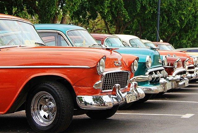 staré automobily