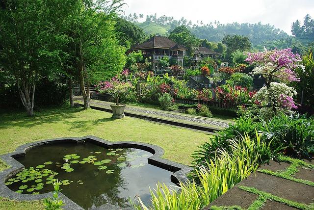 zahrada Indonesie