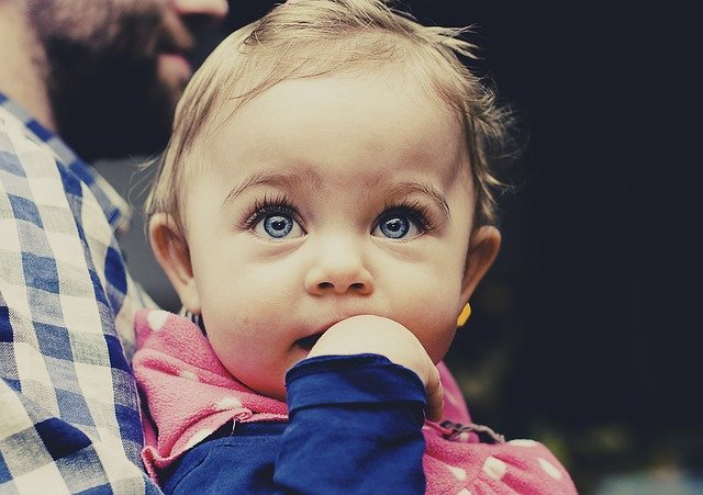 rozkošná holčička