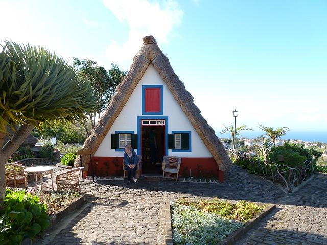 chata na Madeiře