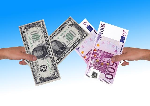 eura s dolary