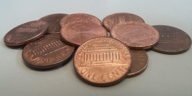 hromádka centů