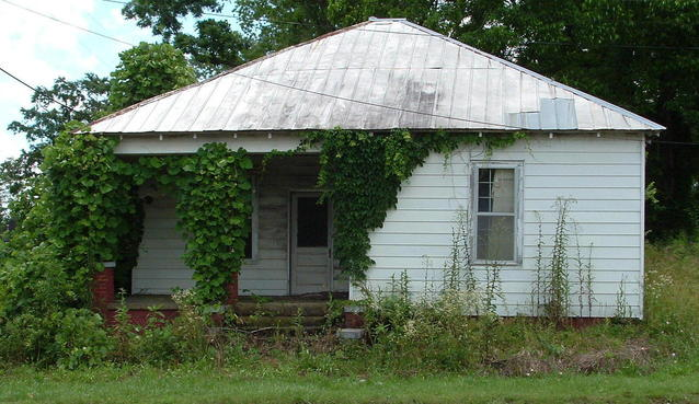 dřevěný bungalov
