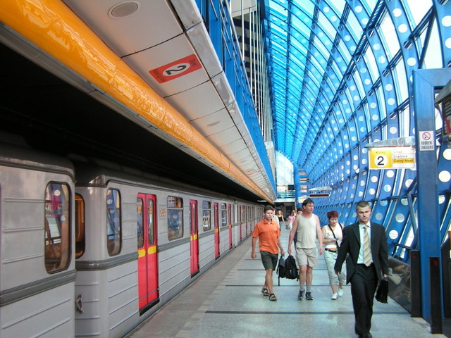 stanice metra Černý Most